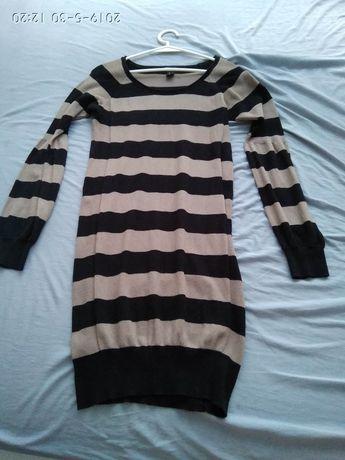 Tunika, sweter ciążowy, sukienka hm mama