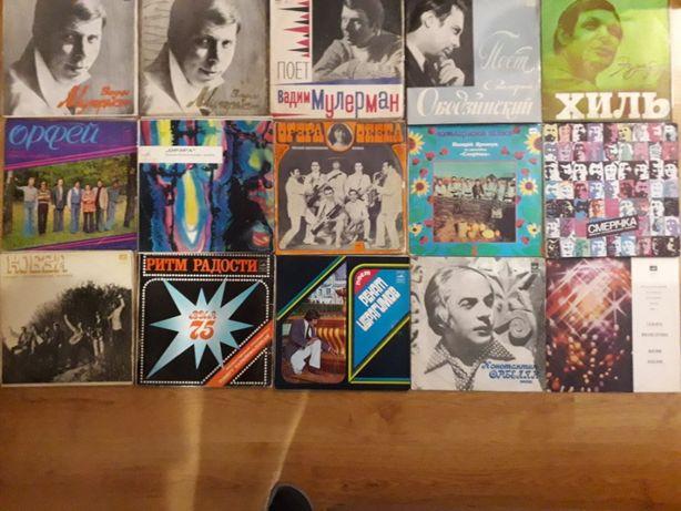 пластинки виниловые ссср,пластинки,советские исполнители разное
