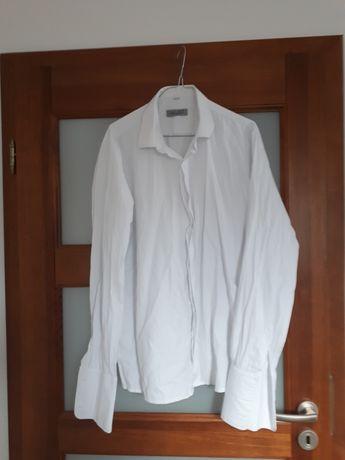 Koszula na spinki slimfit