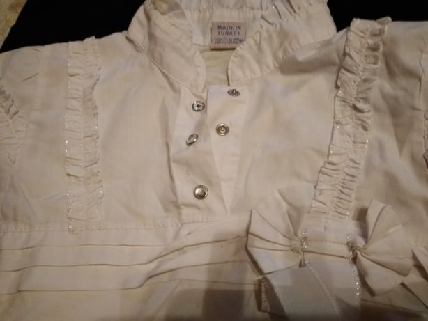 блуза белая школьная