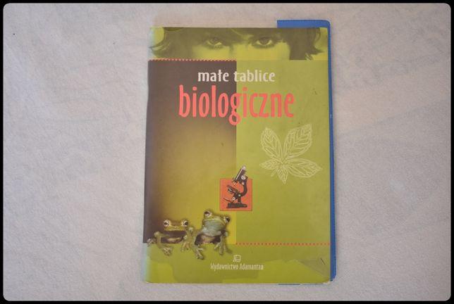 Małe tablice biologiczne wyd. Adamantan 2004