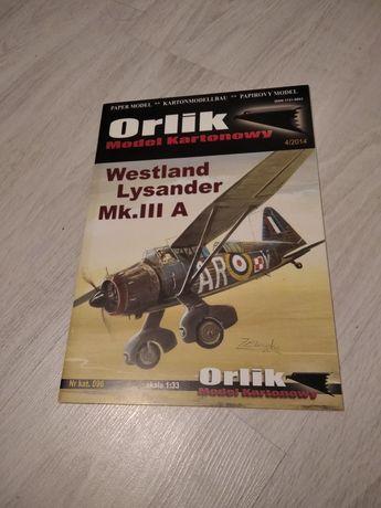 Model Westland Lysander Mk. III A