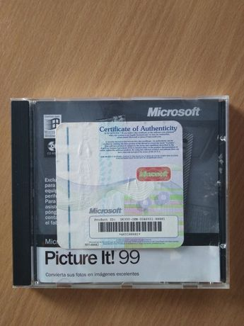 CD Oprogramowanie komputerowe Microsoft Windows 98 Picture It! 99