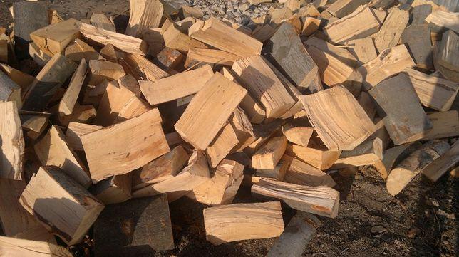 Drewno kominkowe BUK opałowe do kominka drzewo nasypowe