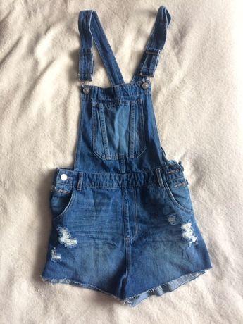 Джинсовий комбінезон, шорти, джинсовый комбинезон, шорты, 38, женский