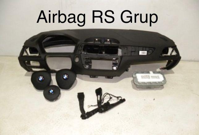 BMW F20 tablier airbags cintos - conjunto!