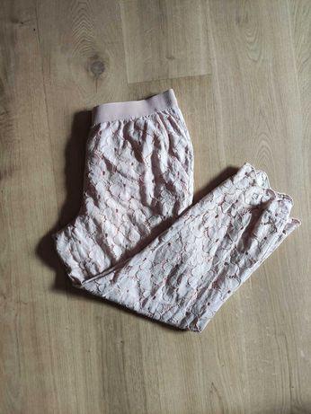 Spodnie dresowe pudrowy róż r. 44-46 XXL xxxl 44 46