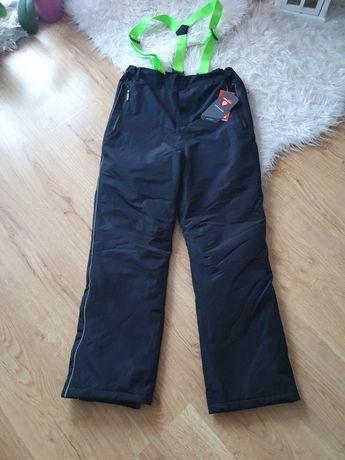 Spodnie zimowe narciarskie śniegowce 176 nowe