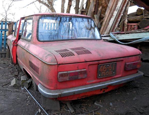 Продам ЗАЗ-968М на запчасти ЦЕЛИКОМ!