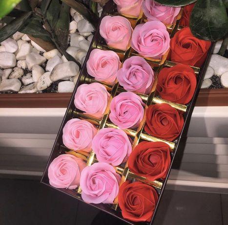 Подарок девушке • Розы из мыла • ОПТ и ДРОП • Оплата при получени