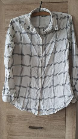 Koszula w kratę H&M r.38