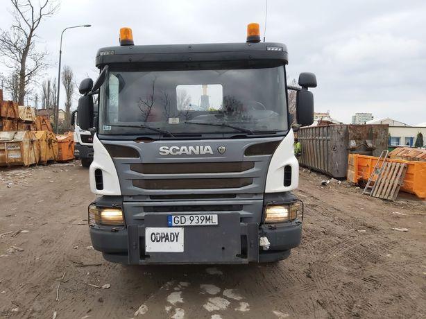 Scania P400 HAKOWIEC 6x4