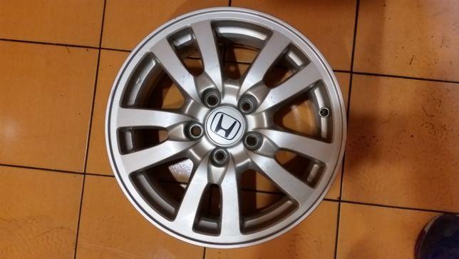 Honda 5x114,3 Felga Pojedyńcza 6,5J ET50 Oryginał Super Stan 16