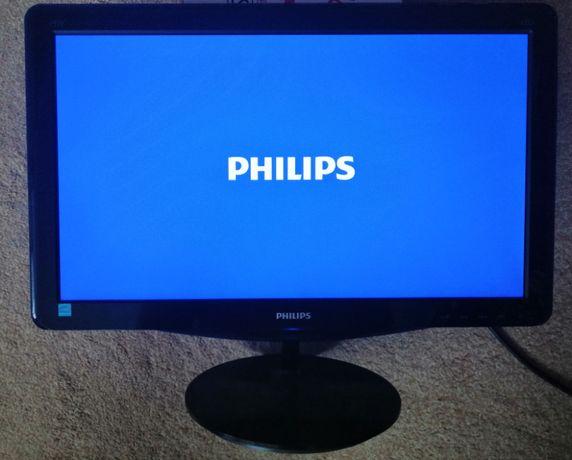 Monitor Philips 197E3LSU 18,5 cala z kablem zasilającym i kartonem