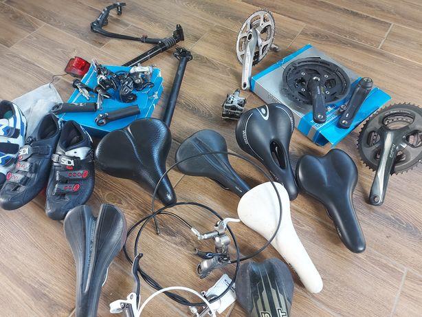 Велозапчастини ,шатуни ,колеса