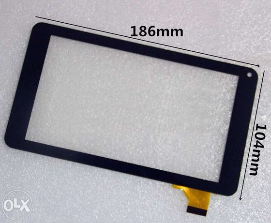 "Touch Screen Digitalizador 7"" Polegadas Tablet"