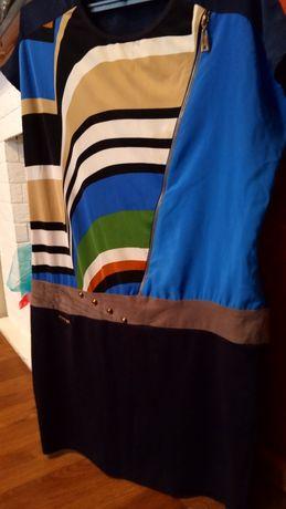 Платье туника 48 размера