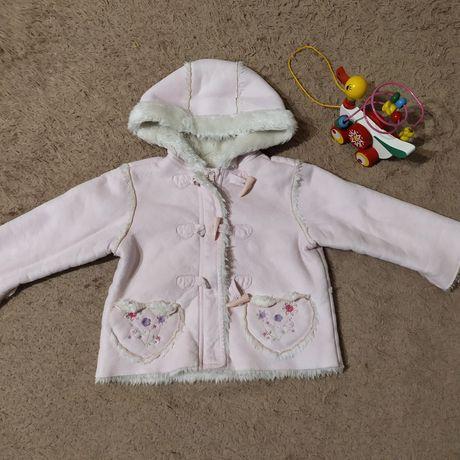 Курточка - дубленка для дівчинки