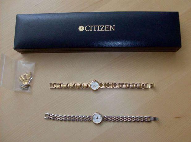Relógio Citizen Senhora dourado e prateado