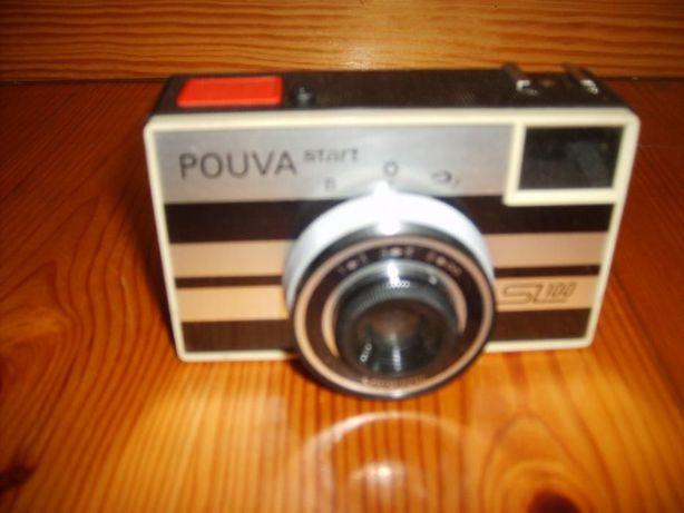 Aparat fotograficzny stary z PRL-u Pouva start SL100