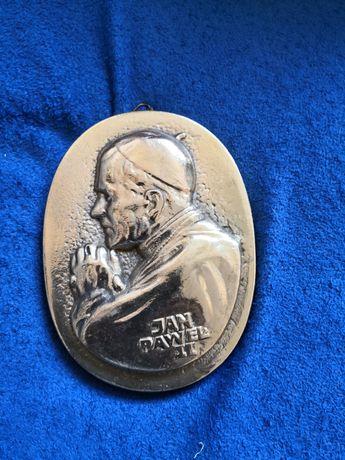 Mosiądz Jan Paweł II zamiana