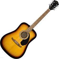 Gitara akustyczna Fender FA-125 +pokrowiec+tuner