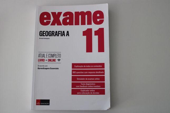 Livro de Preparação para Exame de Geografia A