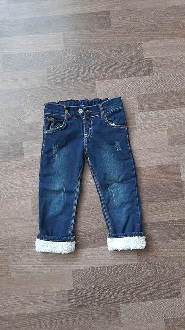 Теплые джинсы Турция Унисекс