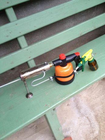 Варомор, дим-пушка для оккурювання бджіл