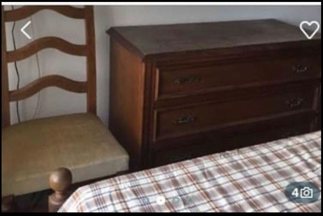 Mobília completa de quarto estilo clássico