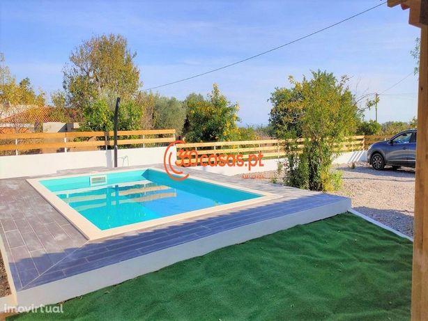 Moradia Térrea T3+1 com piscina e vista mar em Faro
