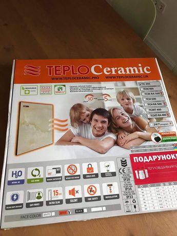 Керамічний обігрівач TEPLOCERAMIC TC395-BEIGE-MARBLE