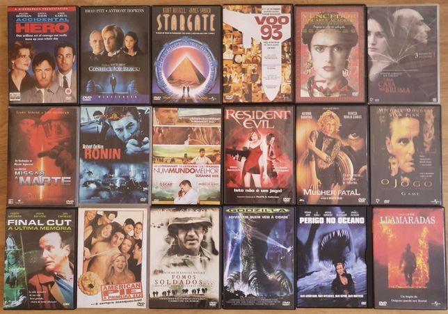 Mais de 70 DVD's Diversos Originais (30€ todos)