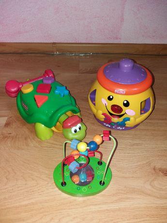 Sprzedam trzy zabawki dla małego dziecka