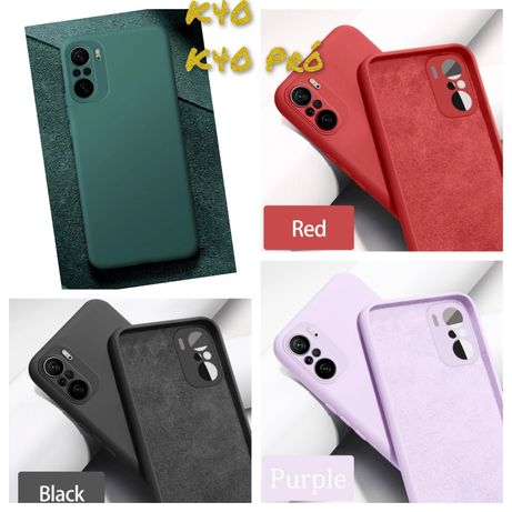 Capa Soft touch P/ Xiaomi K40 / K40 Pró / Poco F3 -Div. Cores-Nova-24h