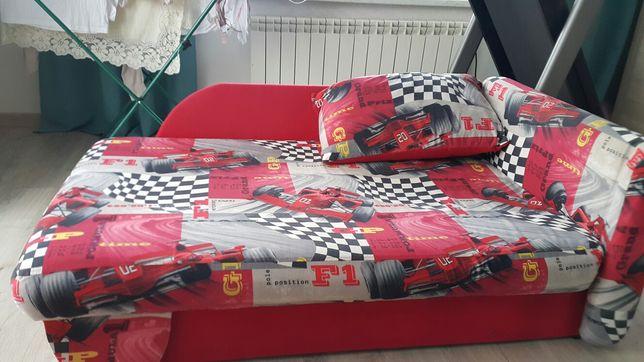 Rozkładane łóżko