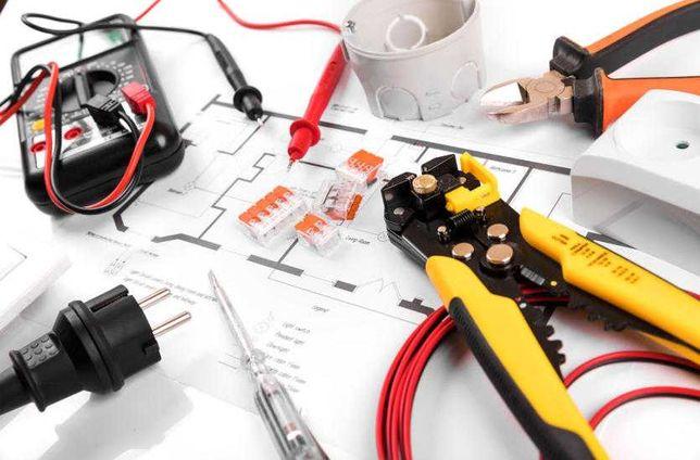 Elektryk-usługi elektryczne, pomiary