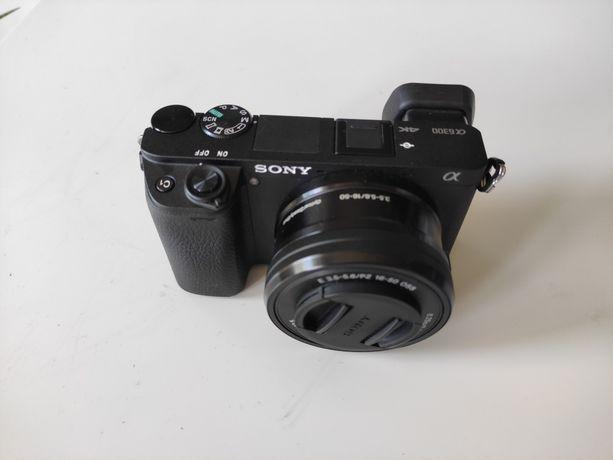 Bezlusterkowiec Sony a6300 Nowy +obiektywy