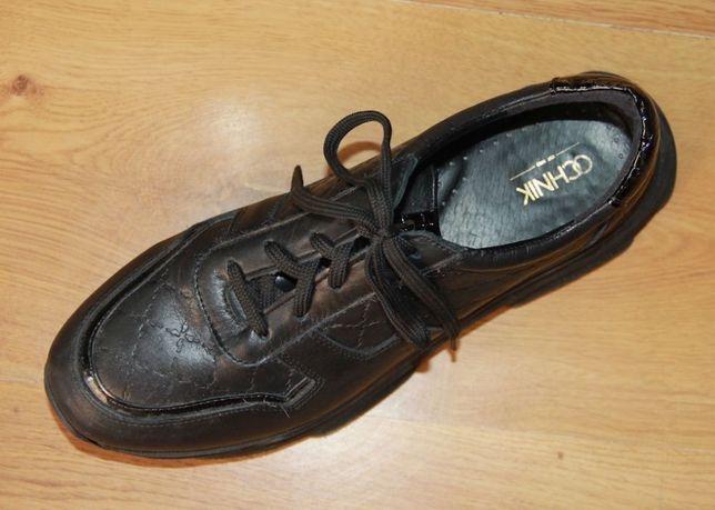OCHNIK skóra BYDLĘCA skórzane czarne sneakersy 40 sportowe buty nike