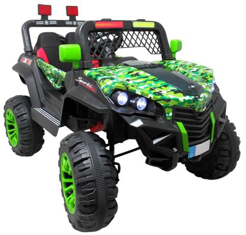 Nowe Auto Na Akumulator Jeep Buggy Napęd 4x4 Światła Dźwięki Pilot