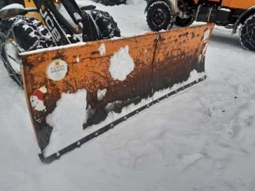Pług śnieżny dzielony do ładowarki, traktora tuz i tur