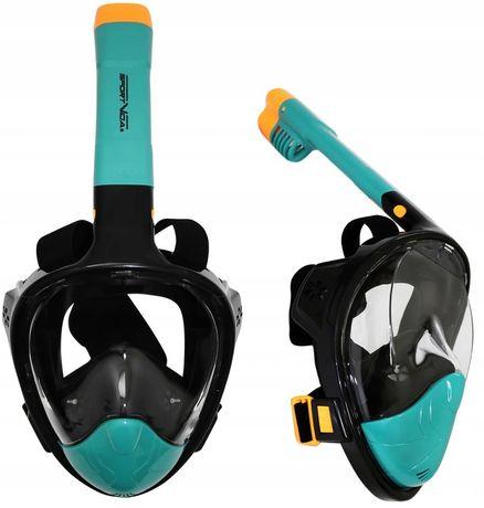 Maska Do Nurkowania Pełnotwarzowa Składana S/m Sv-Dn0020