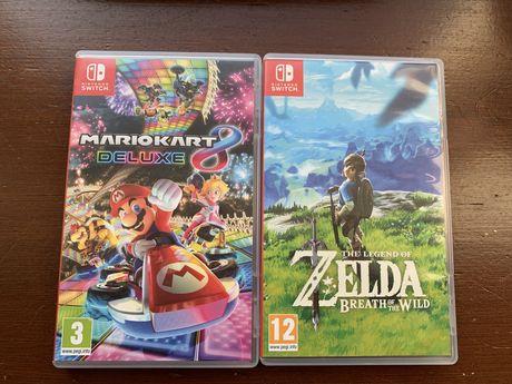Zelda. Mariokart 8