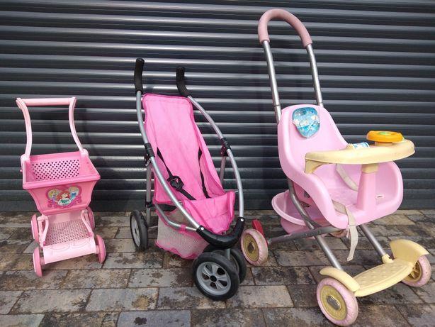Wózek dla lalek dziecięcy