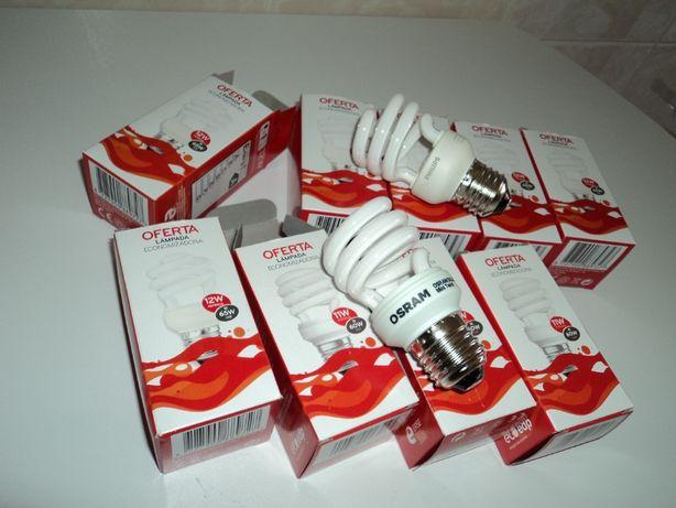 Conjunto de 8 lampadas economizadoras
