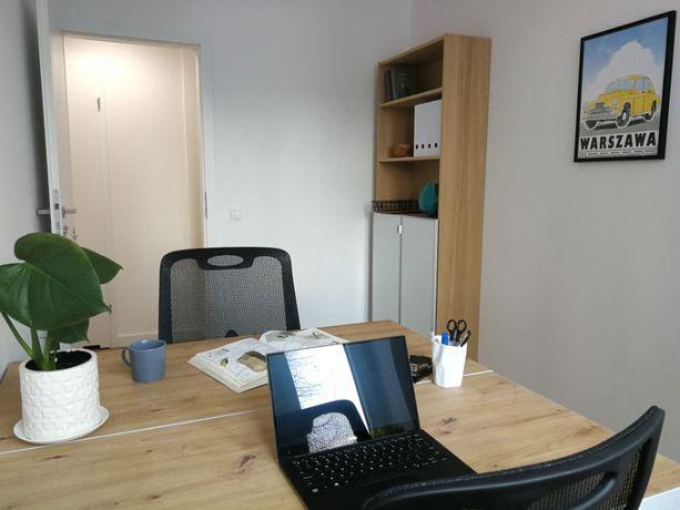 Wyposażony 2 osobowy gabinet w kameralnym budynku na Żoliborzu