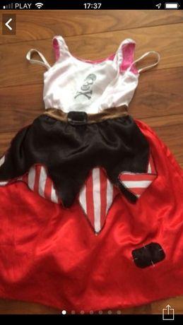 Sukienka przebranie piratki księżniczki2 w1