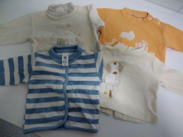 Fatos bebé/Calças e Casaco 1 a 3 meses