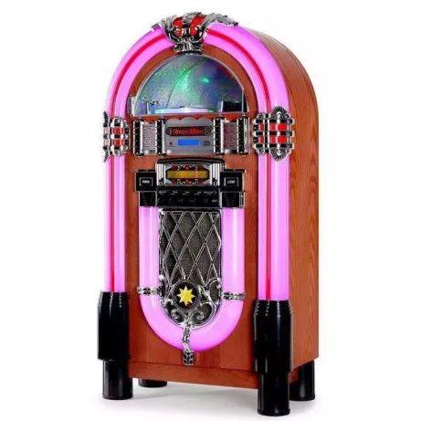 JukeBox Nova Retro Vintage Radio Cd SD usb Aux