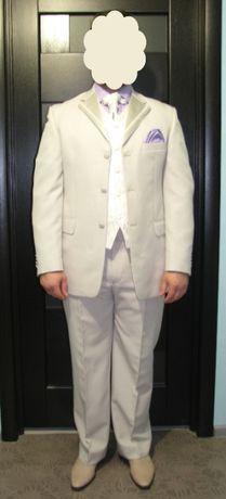 Мужской деловой костюм с жилеткой